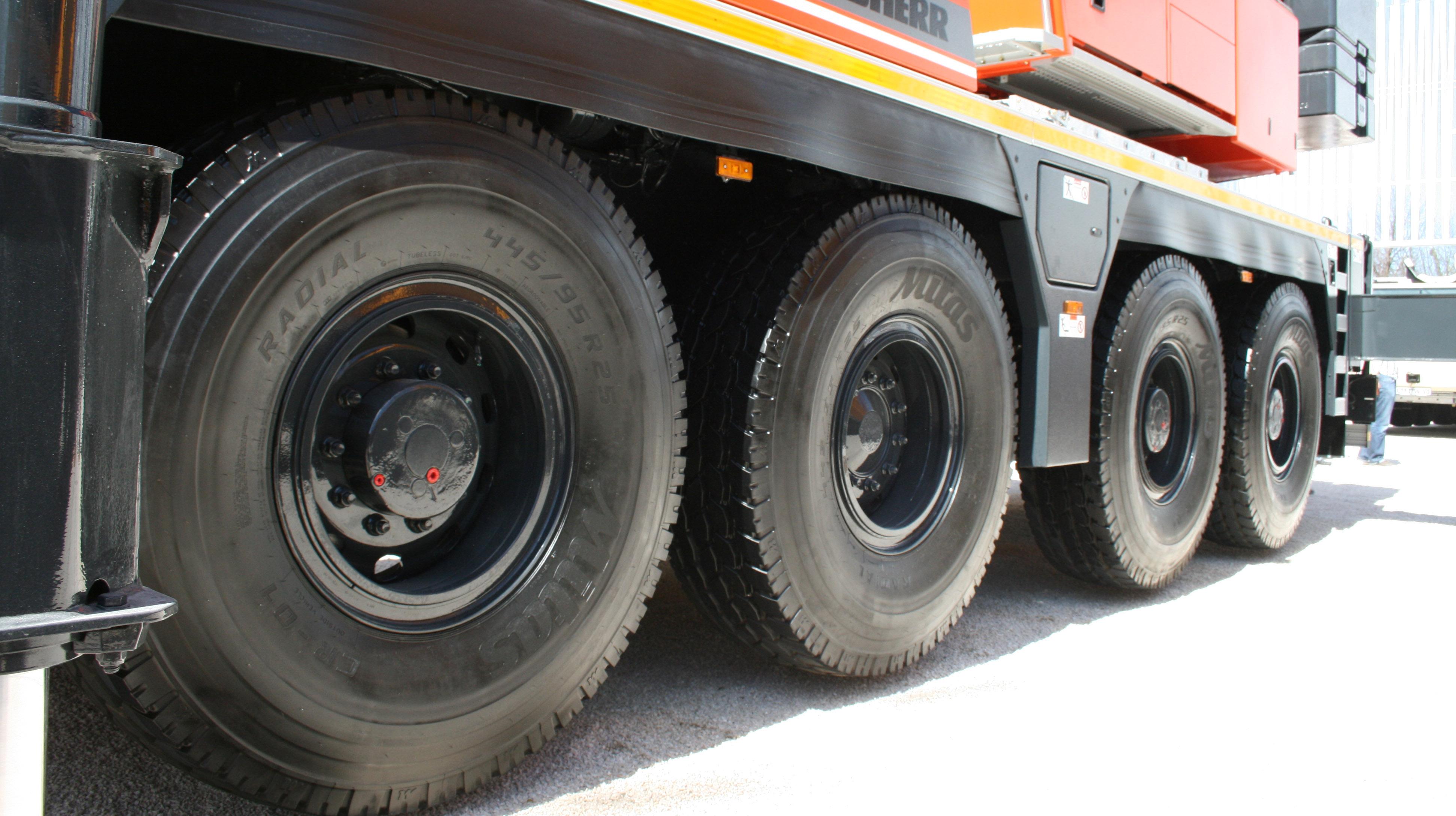 Mitas crane tyres