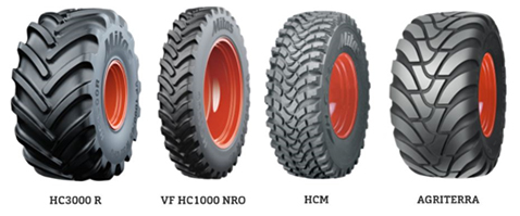 HC 3000 R and VF HC 1000 NRO, HCM and AGRITERRA