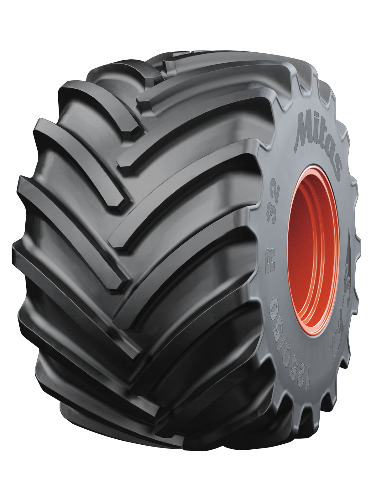 Mitas 1250/50R32 SFT is the heaviest tire in Mitas' product portfolio