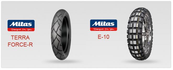 Mitas představuje na veletrhu EICMA inovace v segmentu cestovních, silničních a off-road pneumatik