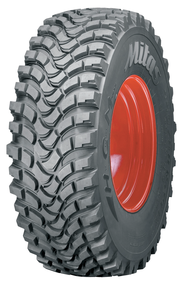 High Capacity Municipal tyre
