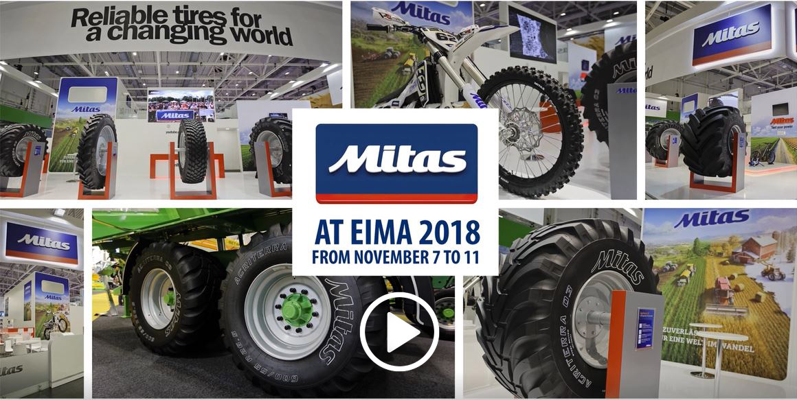 Mitas at EIMA - video