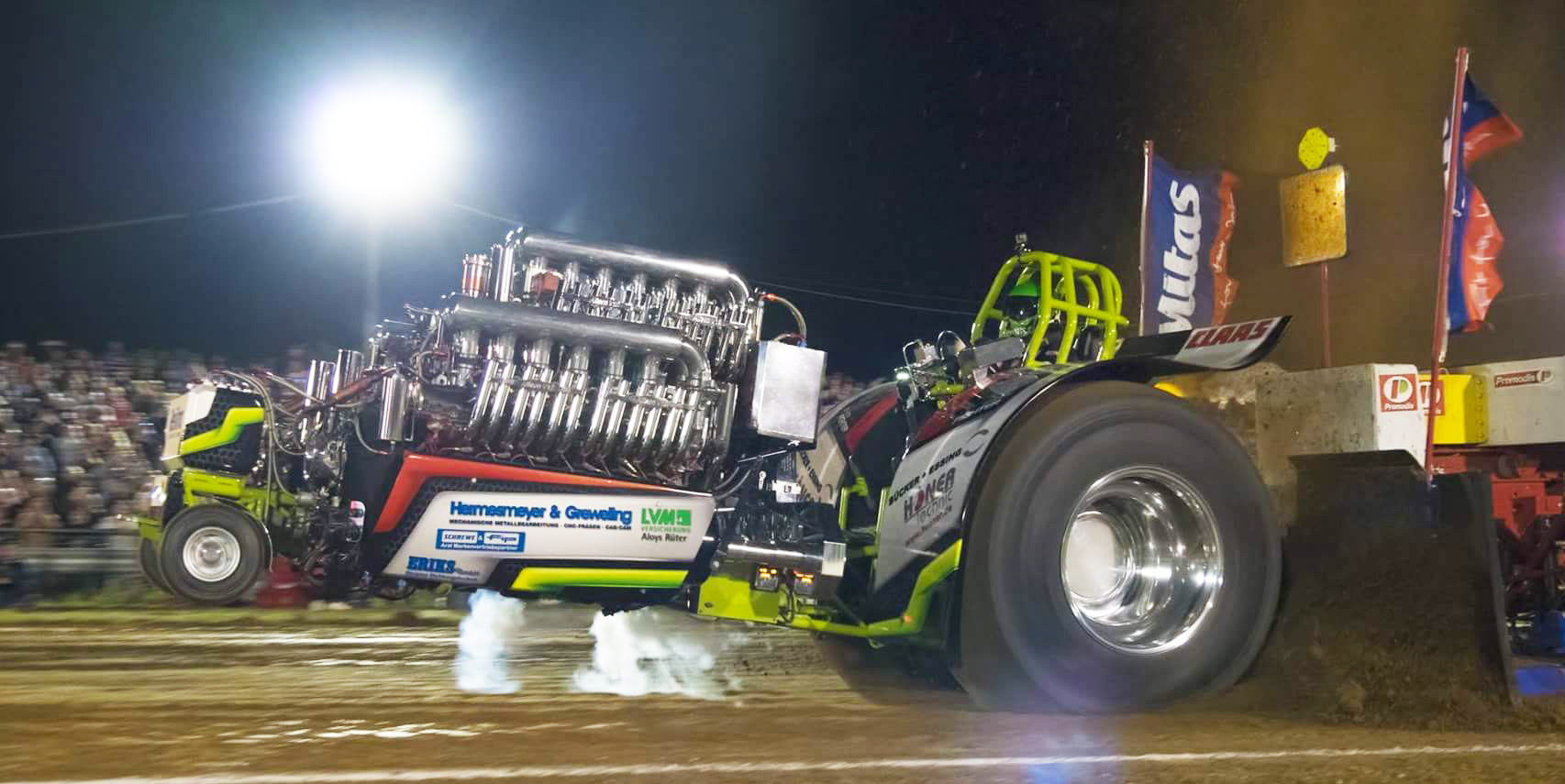 Tractor Pulling - Green Fighter