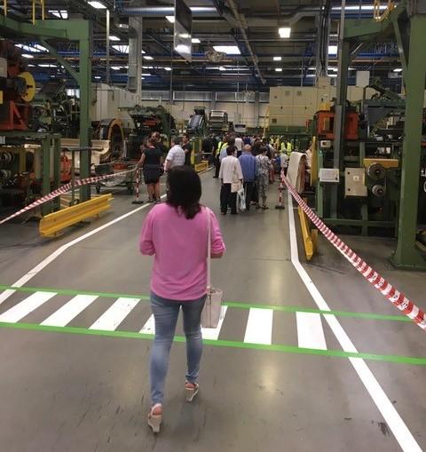 Exkurze ve výrobním závodě Mitas pneumatik
