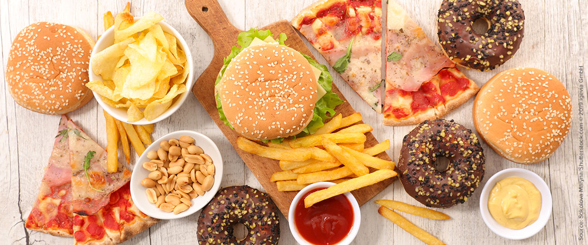 Does junk food cause allergies?