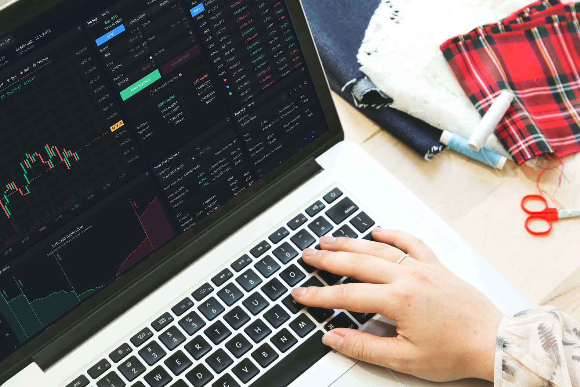 cryptocurrency-trading-dashboard