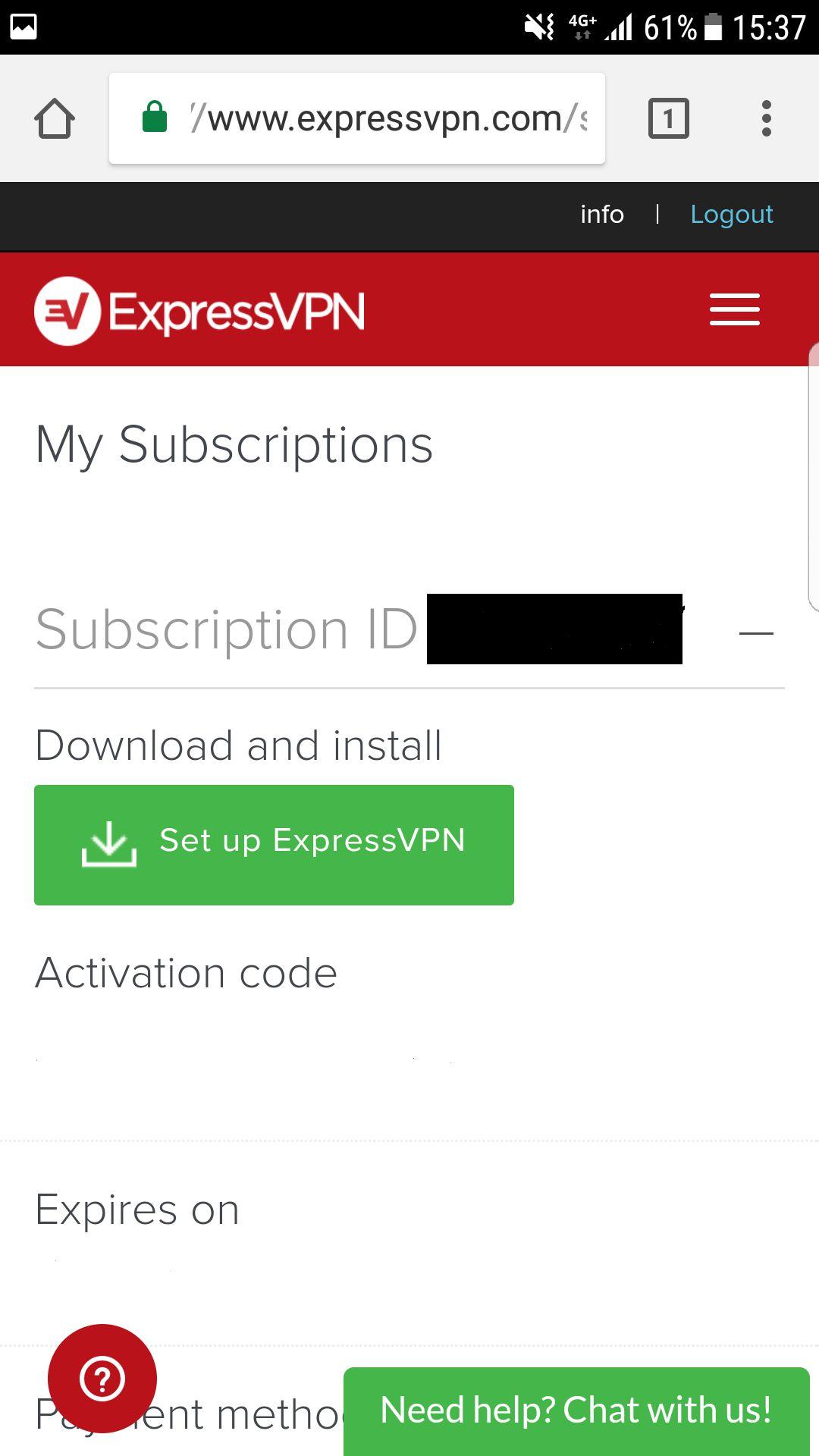 Set up ExpressVPN