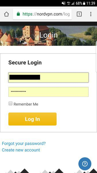 If you have an account, just log in