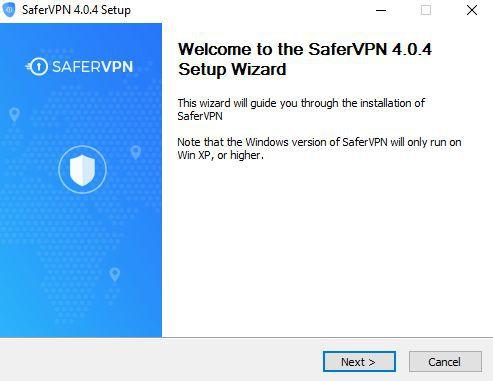 Install SaferVPN