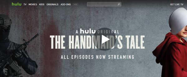 Easy access to Hulu streaming services