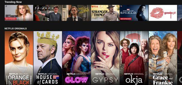 Netflix works flawlessly