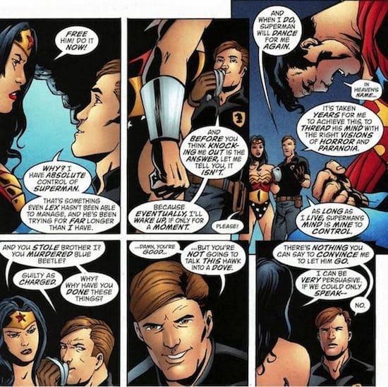 Wonder Woman Maxwell Lord