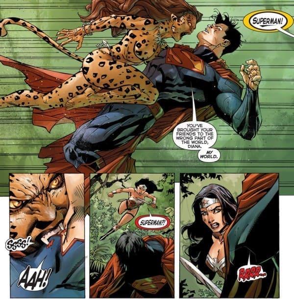 Wonder Woman Cheetah Comics