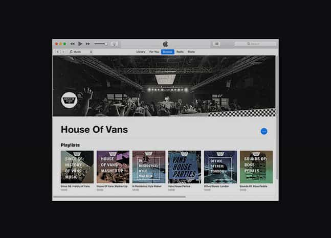 Vans House of Music