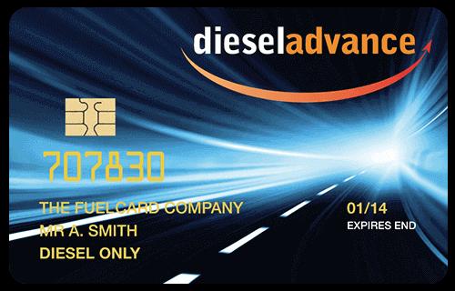 Diesel Advance Pre-pay Fuel Card