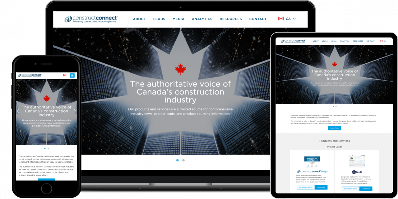 Img ConstructConnect Canada's Website