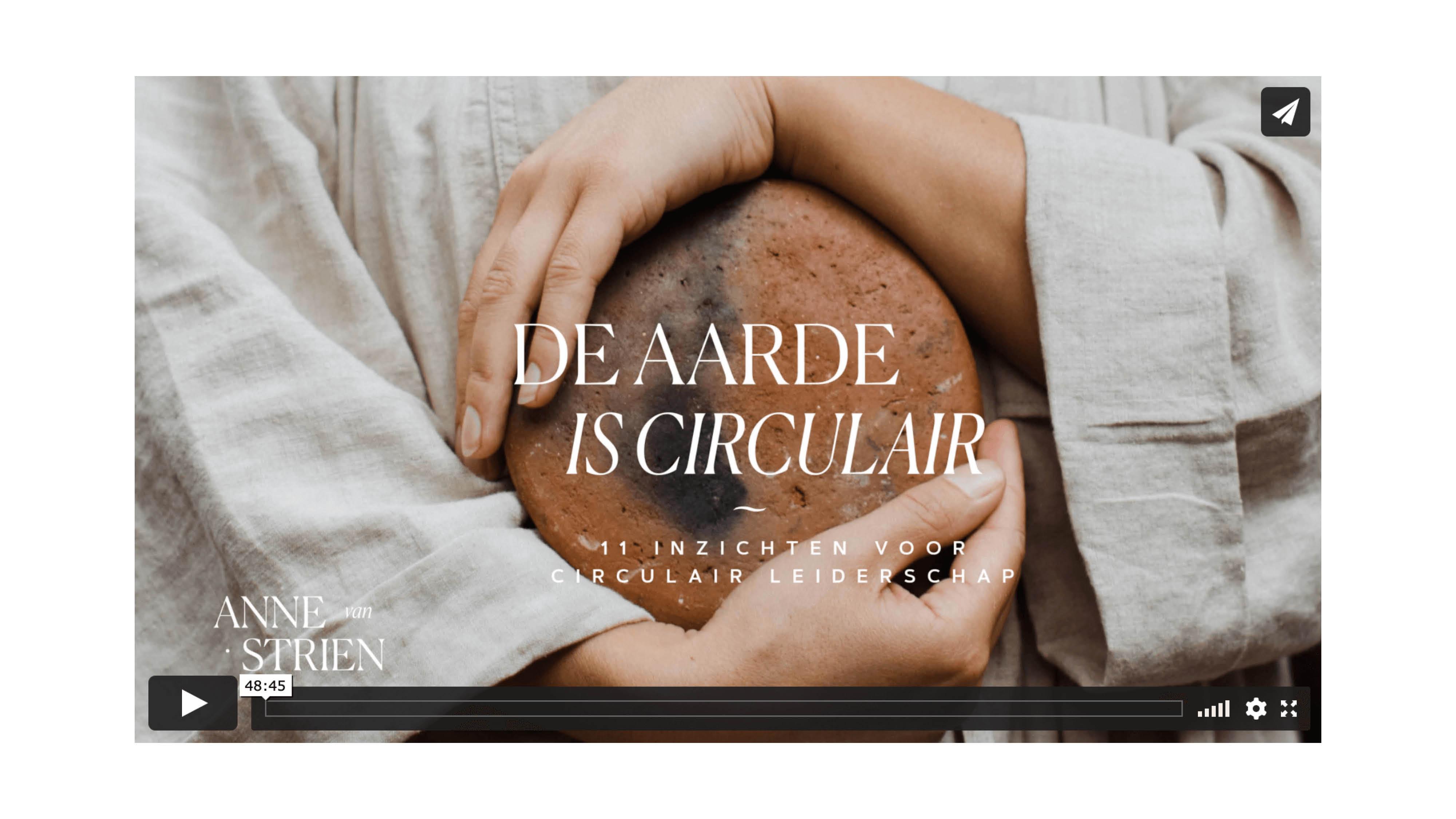 Leiderschap Circulaire Economie Circulair Circular leadership earth Aarde Conscious Bewustzijn