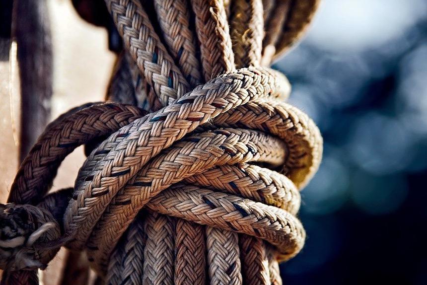 Seile in Knoten