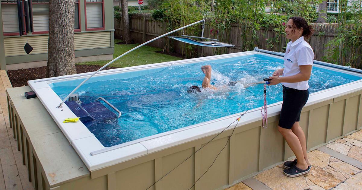 Endless Pools Swim Stroke Training Elite Swimming