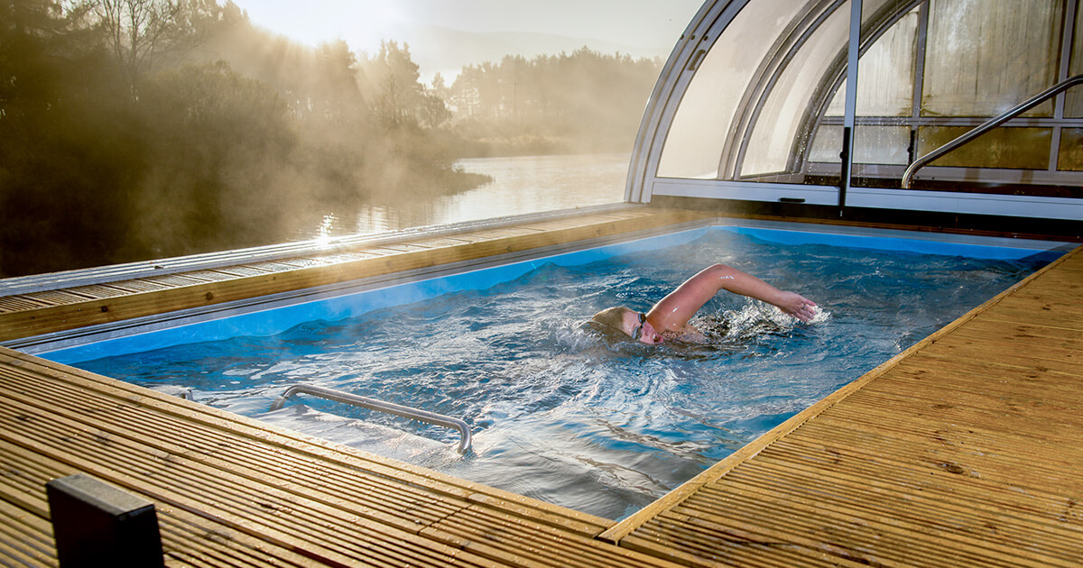 Original Endless Pools Compact Indoor Lap Pools