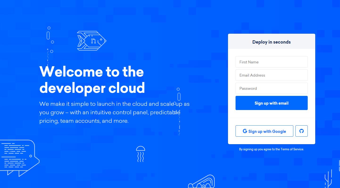 Deploy Potatizer to DigitalOcean Screenshot
