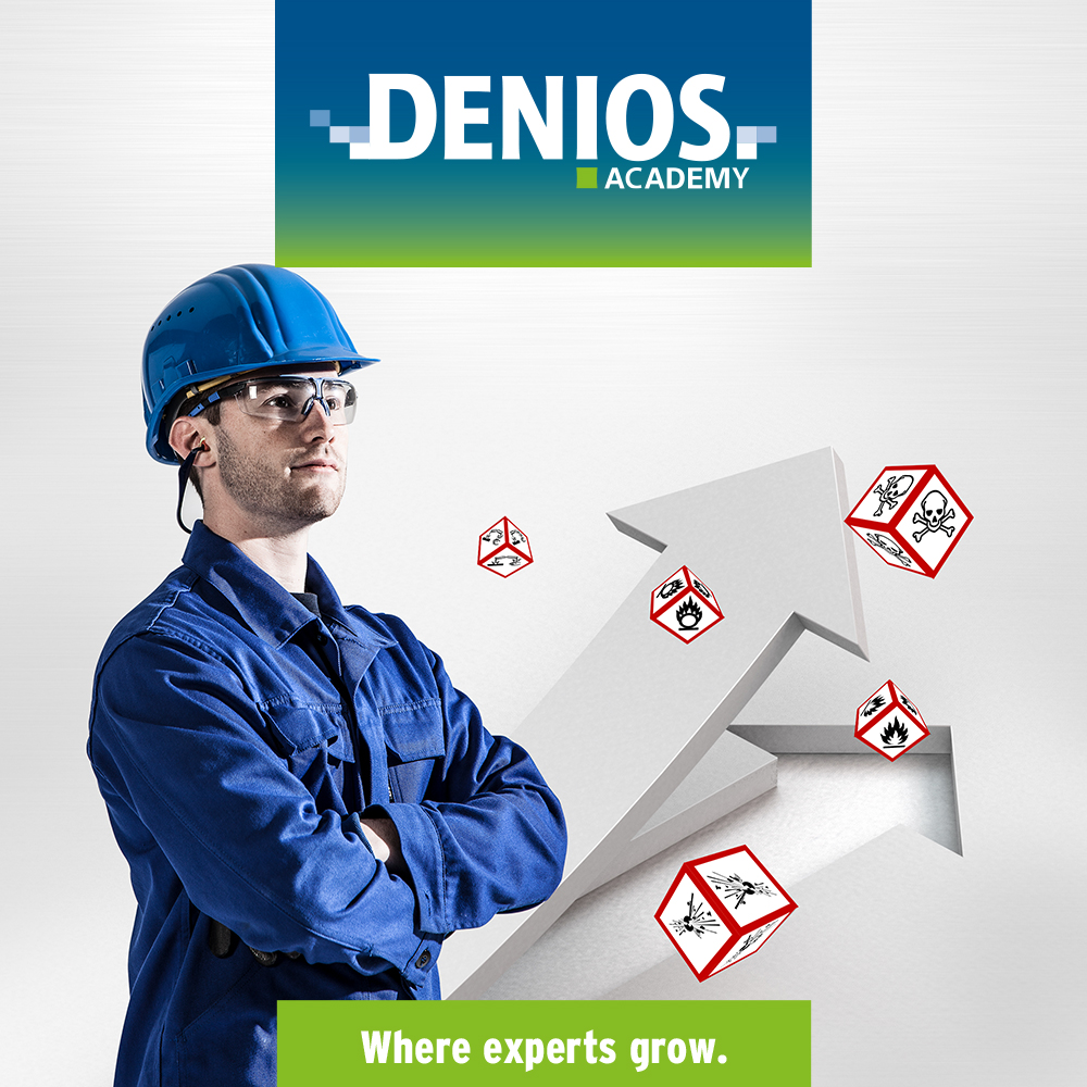 DENIOS Academy. Where experts grow.