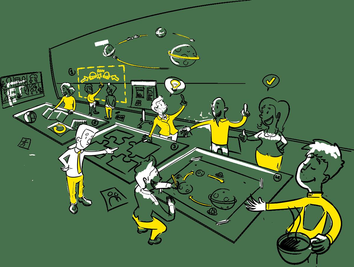 Praatplaat Den Haag proces Zakelijk tekenen strategie visie transformatie