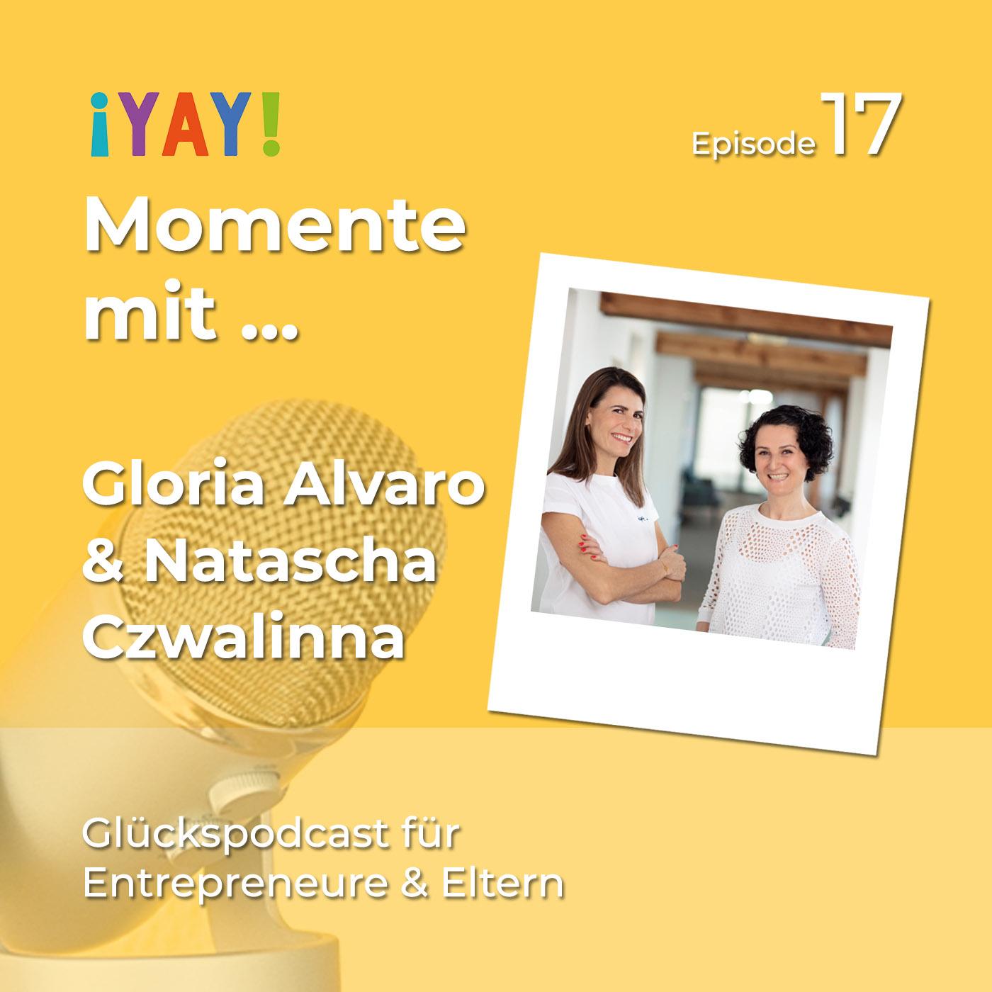 Yay-Momente mit den Leitwandel-Gründerinnen Gloria & Natascha