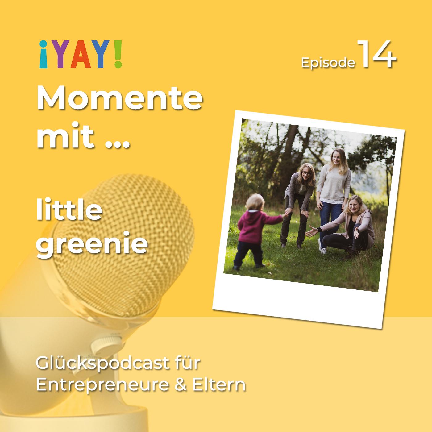 Yay-Momente mit little greenie-Shop Gründerin Anne-Kathrin Wenner