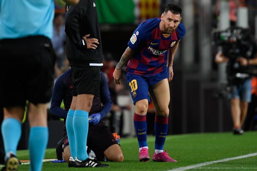 Messi - dudas sobre su estado físico