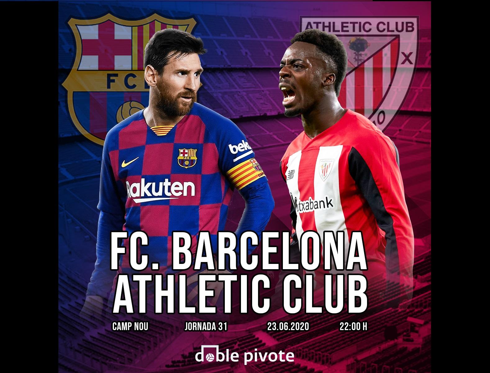 Previa partidazo J31 - Barcelona vs Athetic