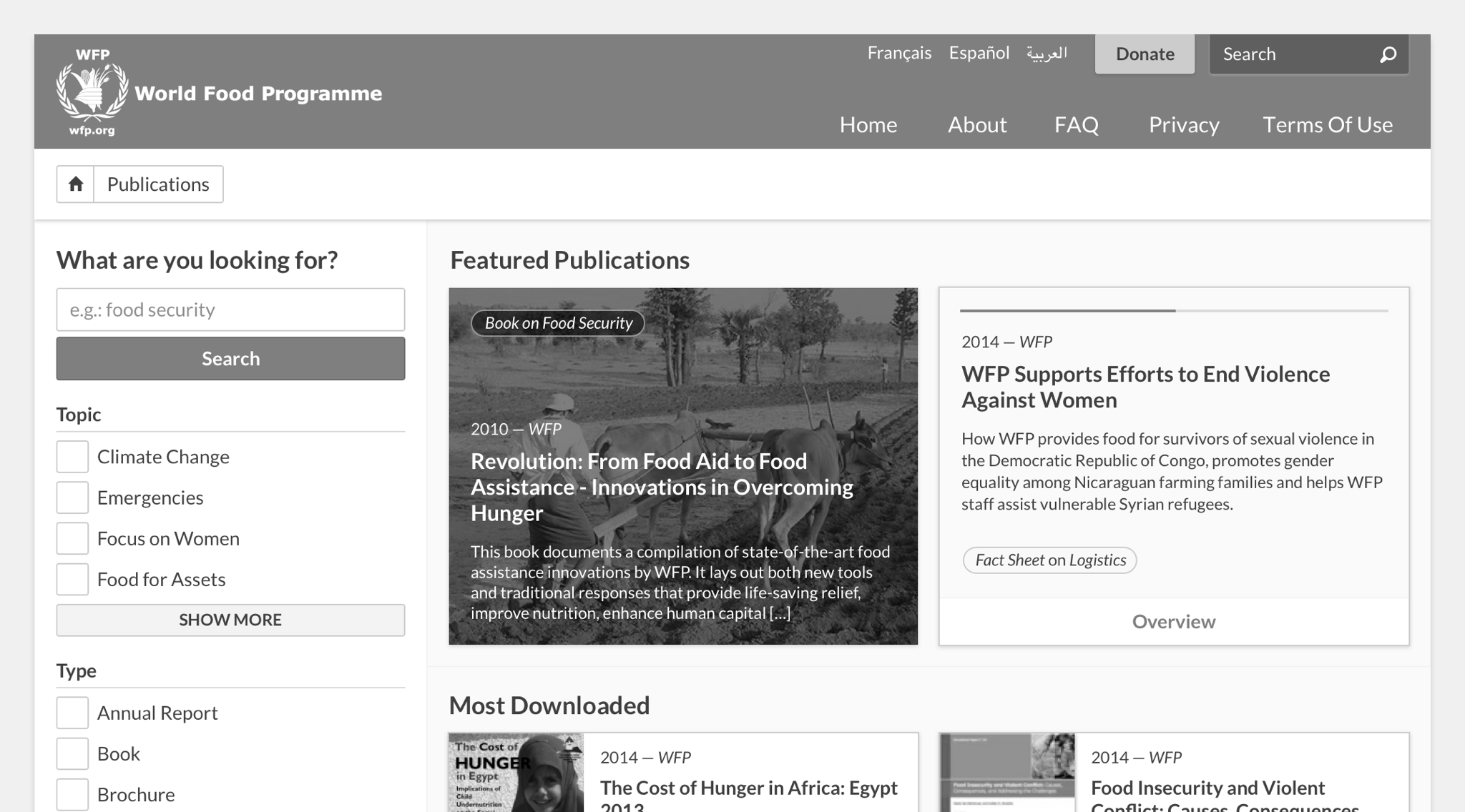 Example of UI with a greyscale overlay, exposing elements with weak contrast.