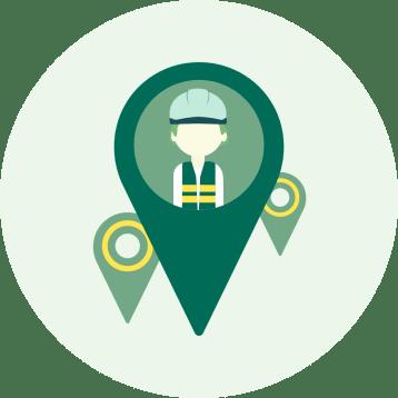 Zugang zu namhaften Unternehmen mit hoher Nachfrage an Zeitarbeitskräften