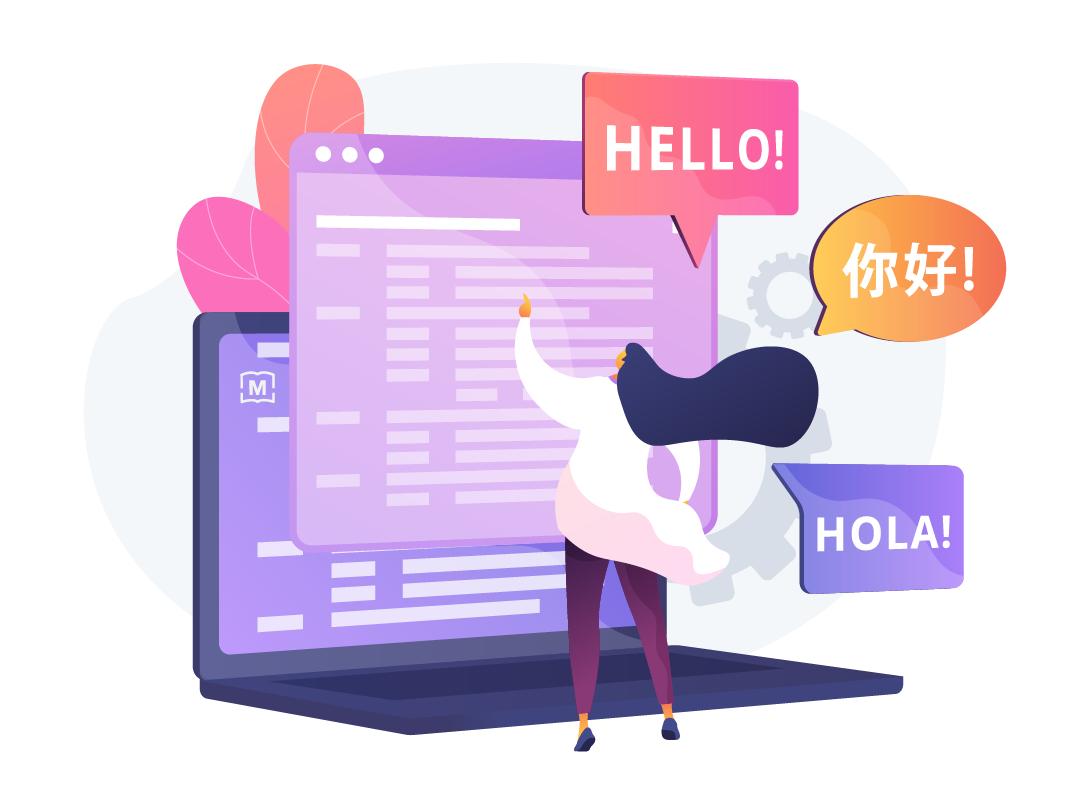 website translation rates
