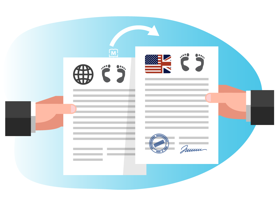 birth certificate legal translation