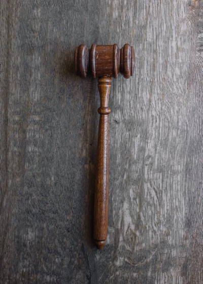 A gavel