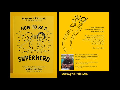 How To Be A Superhero Book Trailer