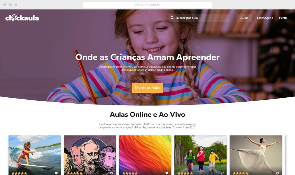 ClickAula - elearning software