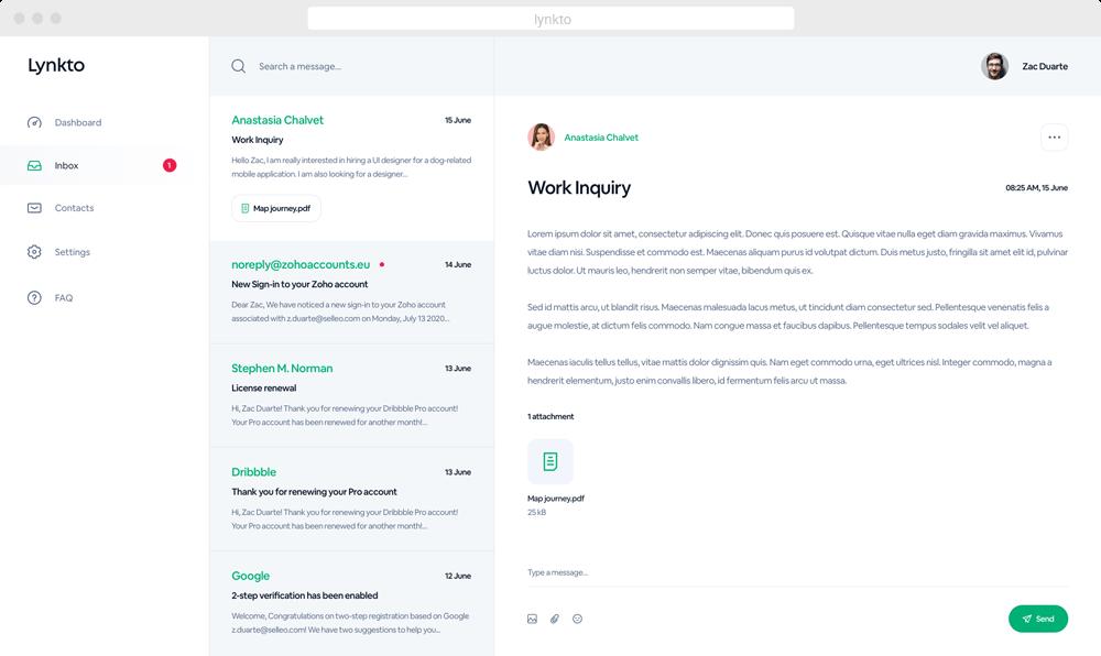 Lynkto - customer relationship management