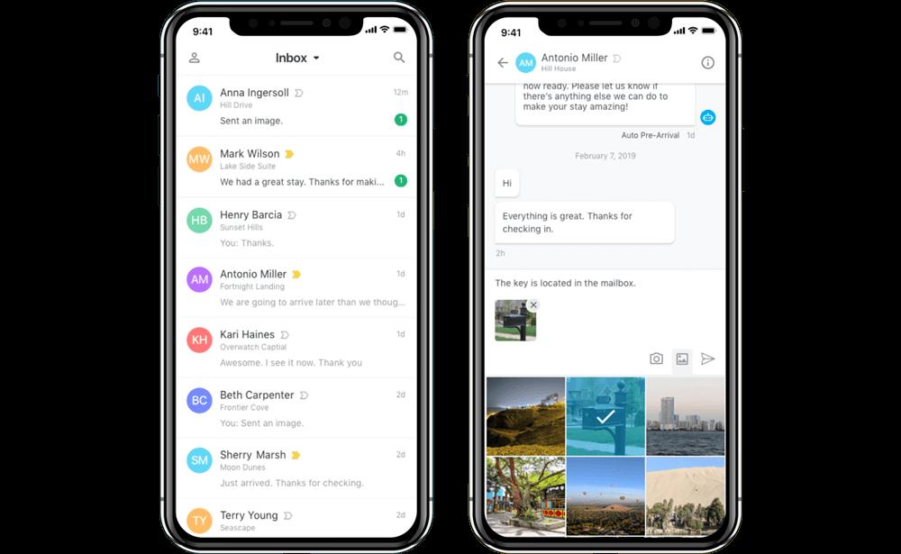 Breezeway  - messaging mobile application