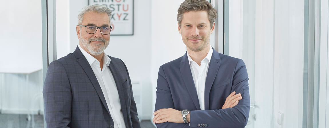 Gerhard Feilmayr und Dominik Flener
