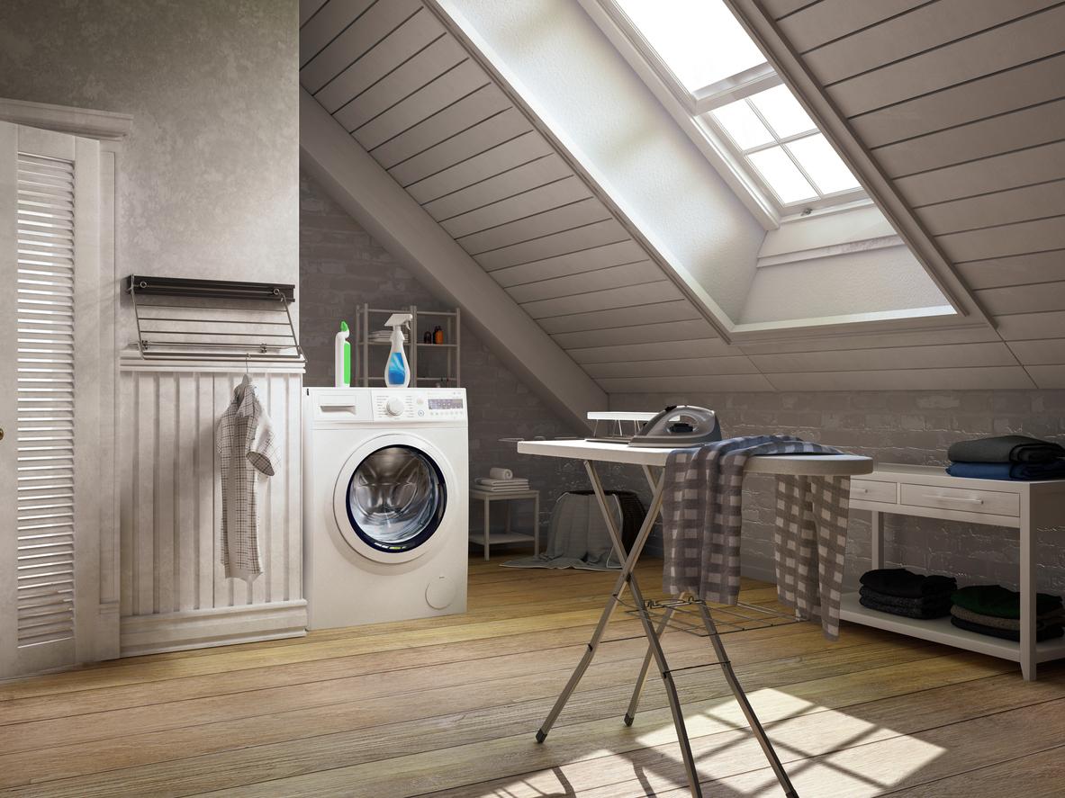 Wohnflächenberechnung: Waschraum