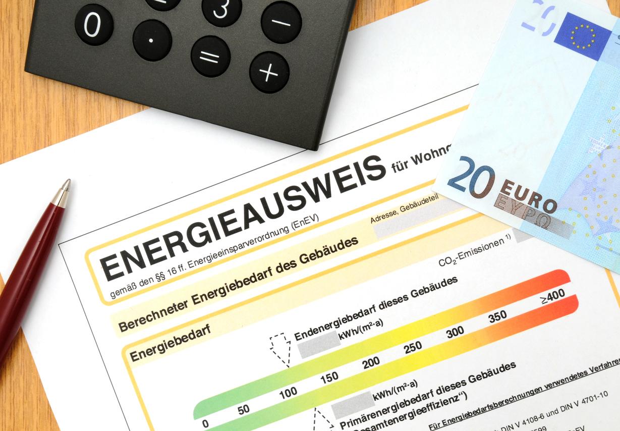 Kosten für den Energieausweis