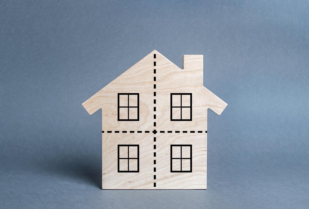 Mehrfamilienhaus verkaufen: Haus aufteilen?