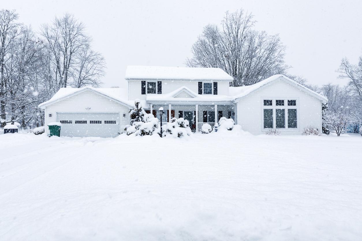 Schneeraeumpflicht: Schneesturm