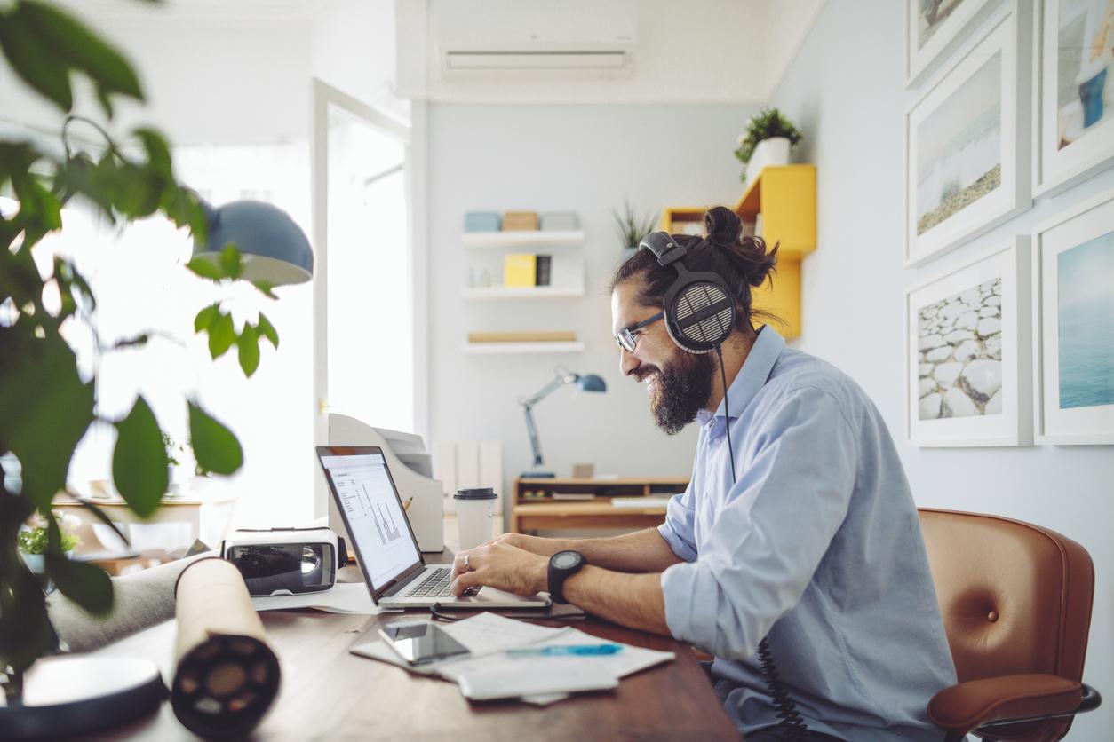 Arbeit im Homeoffice ermöglicht mehr Flexibilität.