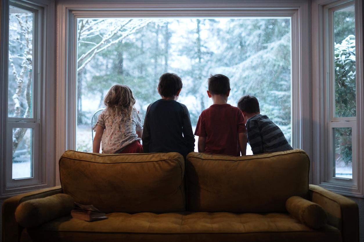 Gute Sicht und klare Fenster im Winter