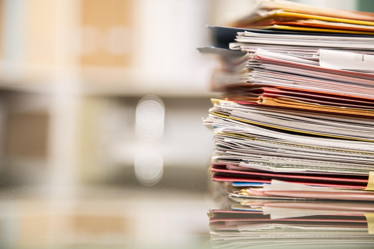 Teilungsvermessung: Unterlagen
