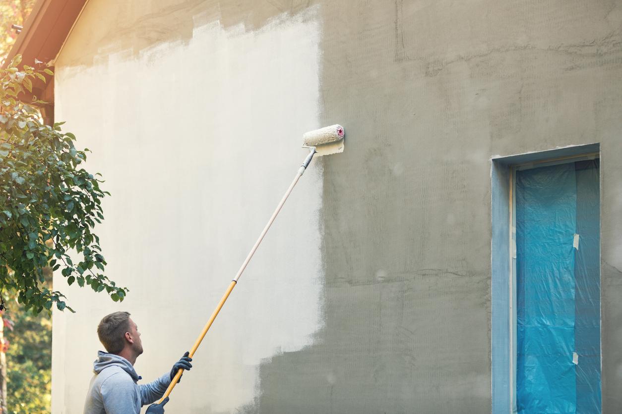 Wertsteigerung Immobilien: Malerarbeiten