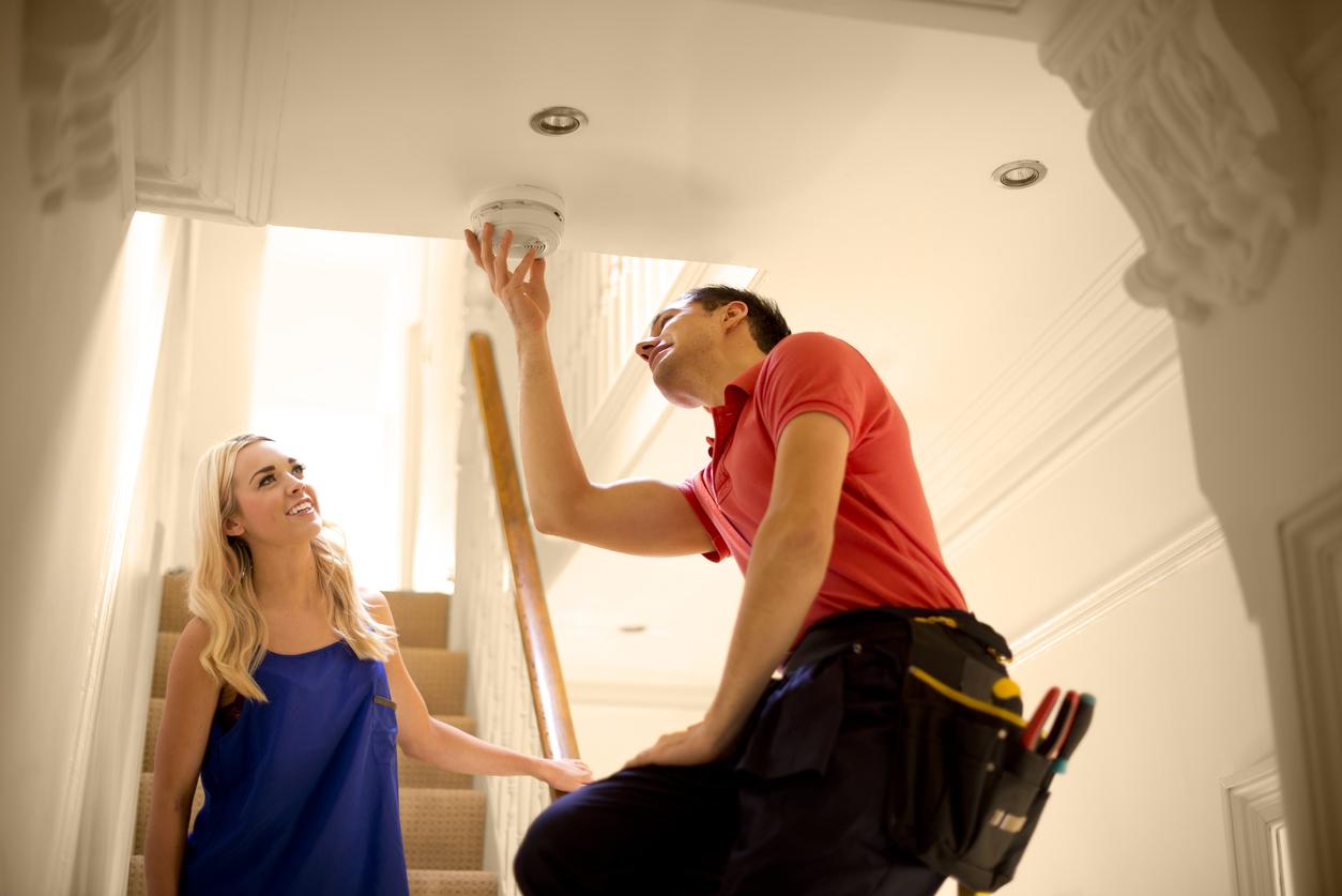 Rauchmelderpflicht: Wartung und Installation